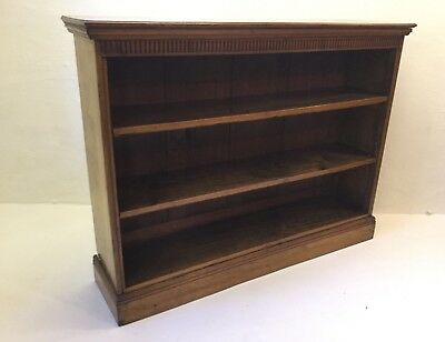 Antique Pollard Oak Library Bookcase Straight From A Somerset Country House