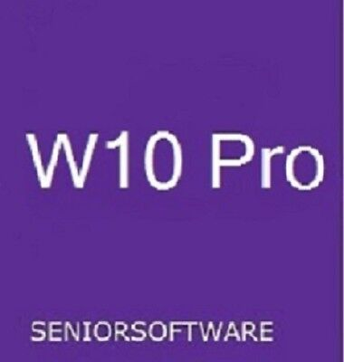 Windows 10 Pro 32 / 64 Bit Genuine License Key Product Code