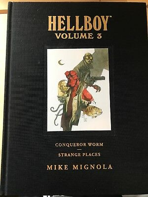 Hellboy - Library Edition - Volume 3 - Hardback