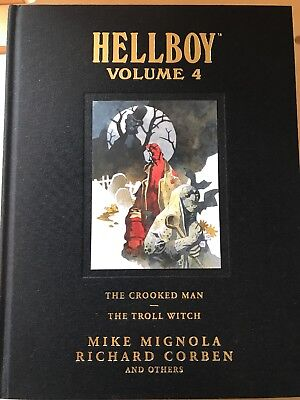 Hellboy - Library Edition - Volume 4 - Hardback