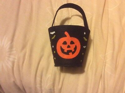 Halloween Trick Or Treat Pumpkin Bag - Perfect To Collect Your Treats