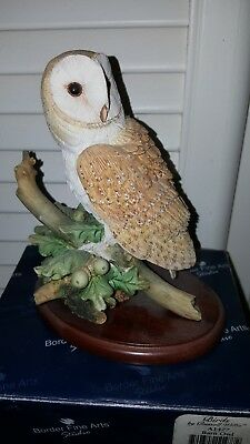 Border Fine Arts Barn Owl A1477
