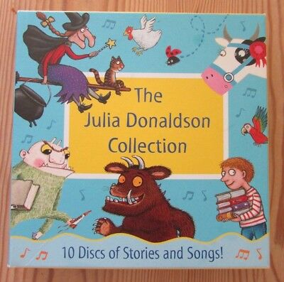 The Julie Donaldson collection 10 CDs including the Gruffalo