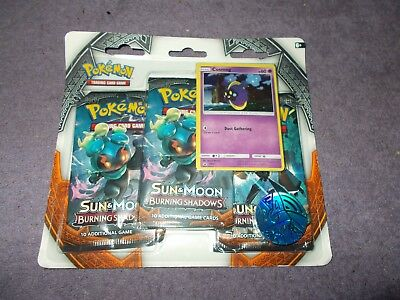 new POKEMON sun and moon  packs of additional game cards dust gathering