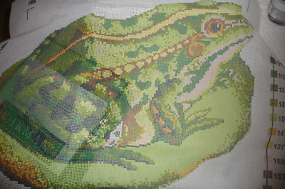Ehrman Lily Pad Frog, Design By Kaffe Fasset - Tapestry Kit  - Not Used