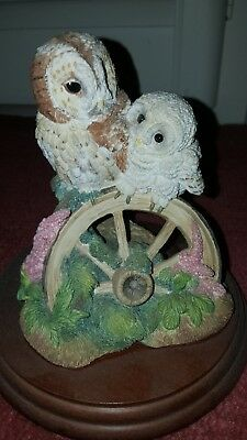 Border Fine Arts Tawny Owl and Chick 652008