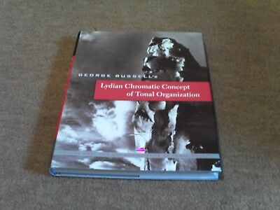 Lydian Chromatic Concept of Tonal Organisation - George Russell (Hardback) MINT!