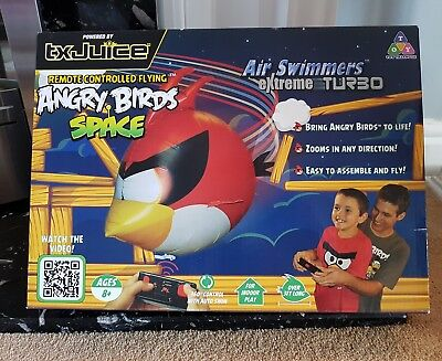 Remote controlled flying Angry birds space Air swimmers Extreme Turbo