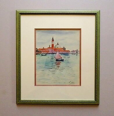 Gustave LINO (1893-1961) - VENISE