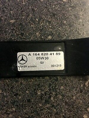 Mercedes Benz rear entertainment remote A1648204189 used