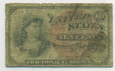 Fourth Issue Ten Cent Fractional Currency