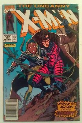 The Uncanny X-Men #266 VF 1st Gambit + key issues #350 NM, Annual #14 VG
