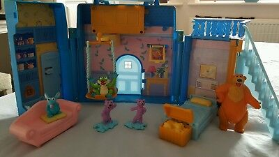 Rare Tm & Henson Bear In The Big Blue House Playset