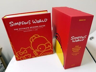 Simpsons World Ultimate Episode Guide Book Seasons 1-20