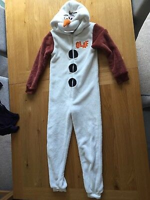 Kids one-piece Olaf from Frozen age 8 - 9 years