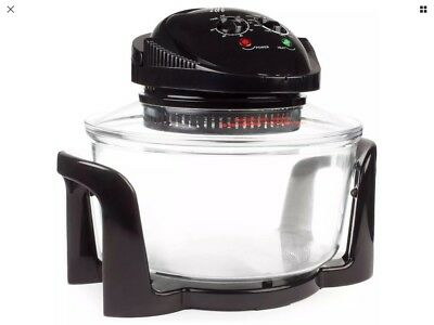 Andrew James Halogen Oven 1300 Watts 12 Litre Capacity Premium Convection Oven
