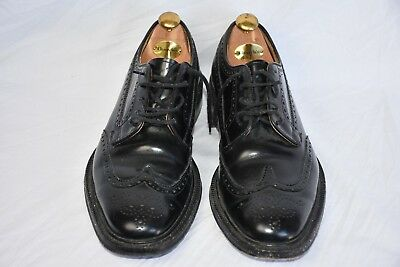 Church's Men's Grafton Black Brogue Shoes  Size 8.5G with shoe trees