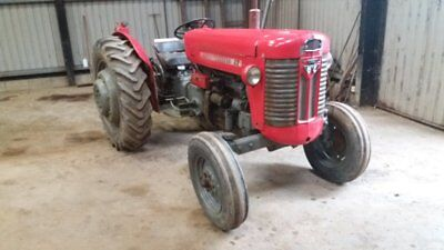 1961 MF65 Mk2 off farm condition in its working clothes