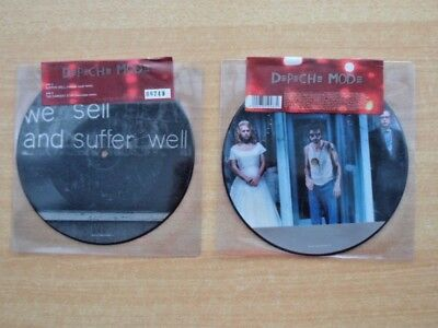 "DEPECHE MODE ""Suffer Well"" (UK ""Limited Edition"" 7"" Picture Disc Single) SEALED!"