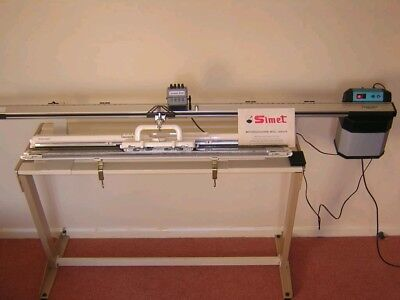 Simet Powerknit 90 motor drive for silver reed and brother knitting machines