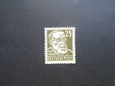 1953 Famous Men 25Pf Wz Posthorn Vf Mnh Ddr Germany Deutschland B663.40 0.99$