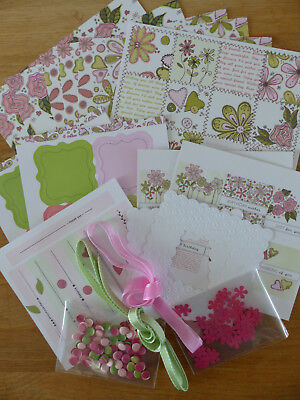 Sweet Meadow collection kit, Craftwork Cards, pretty floral card making items