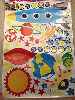 Childrens Nursery Space Stickers - New