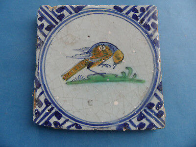 Bird  Pictorial  Wall Tile