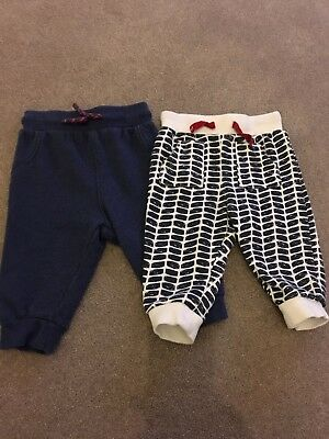 Baby Boys M&S Joggers 6-9 Months