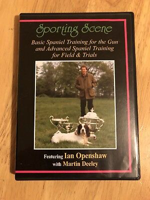 Basic and Advanced Spaniel Training for Field And Trials DVD - Ian Openshaw