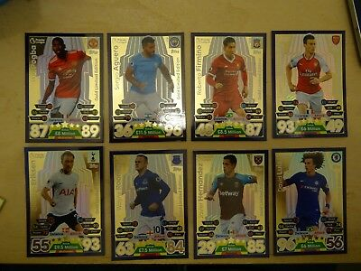 Topps Match Attax 2017/18 GOLD Limited Edition HERO PACK AL THE GOLD LE CARDS