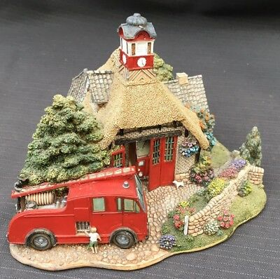Lilliput Lane House - Fireman's Watch