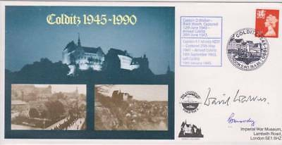 Colditz 1945-1990 Double signed cover.Cpt D Walker,Black Watch,Cpt R F Moody