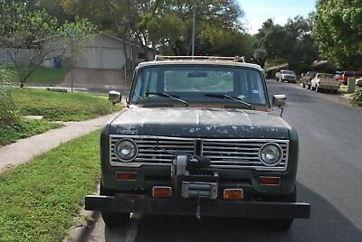 1972 International Harvester Other  1972 INTERNATIONAL TRAVELALL WAGON 4X4 ALL ORGINAL 2 OWNERS! 116K MILES