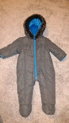 Ted baker 6-9 Months Immaculate cond. Snowsuit/Winter suit 💙