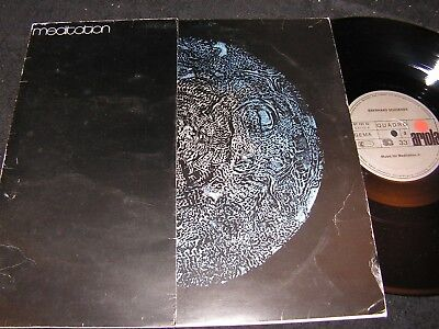 EBERHARD SCHOENER  Music For Meditation I/II / German Quadro LP'73 ARIOLA 87131