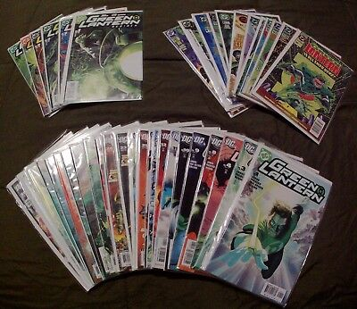 Green Lantern +3D, Annuals and Rebirth Lot of 42 Comic Books In Great Condition!