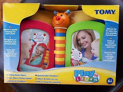 Tomy Discovery Forget Me Not Talking Photo Album - Record messages. Still in box