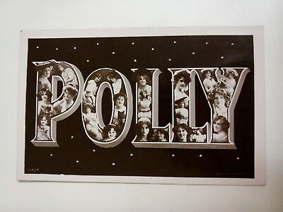 Polly Postcard. Rotary Series. Vintage. Edwardian. 1906. Used.