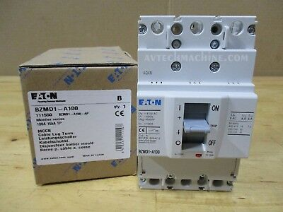 Eaton Breaker Thermal-Magnetic 100A BZMD1-A100