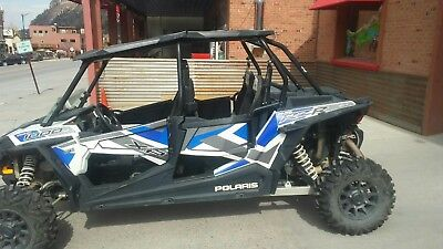 2017 polaris rzr xp4 1000  NO RESERVE!!!