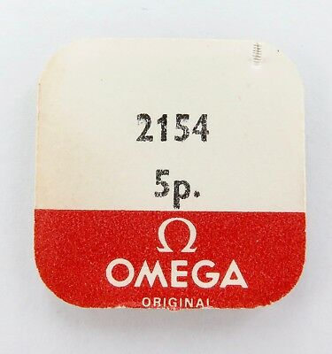 Omega Part 2154 5 Hairspring Stud Screws. Nos In Packet. Price Is For All 5.