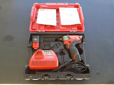 Milwaukee 2452-22 M12 FUEL 1/4 in. Impact Wrench Kit