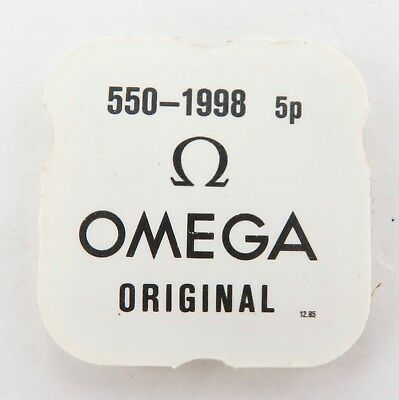 Omega 550-1998 5 Case Clamps. Nos In Packet. Cal. 550 Part 1998. Price For All 5