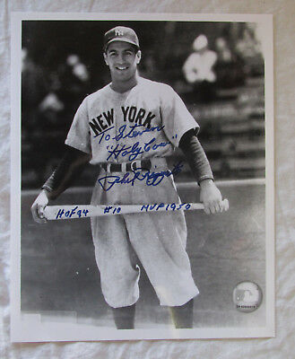 PHIL RIZZUTO Auto Autograph 8x10 Signed Photo New York Yankees HOF MVP HOLY COW