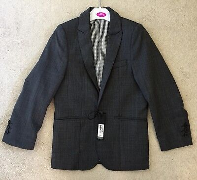 M&S boy's  formal blazer suit jacket Age 8( New with tag)