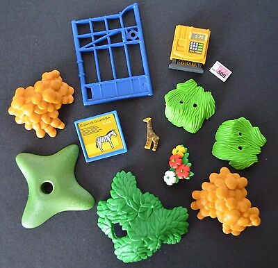 Playmobil 4850 Zoo entrance replacement parts giraffe toy gate plant food sign