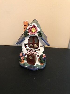 House Shaped Candle Holder