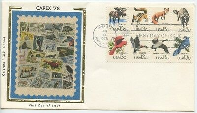 1978 Fdc,capex 78,  Block Of 8