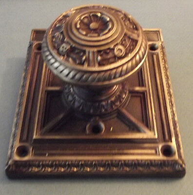 1904 Chicago Savings Bank Building C.s.b.b. Mother Of All Door Knobs  Brass Old+